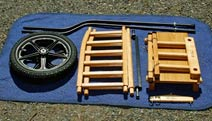 Disassembled Basic Replica Hay Cart